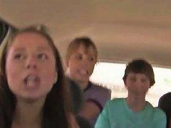 Beautiful Young Girl Suck Dick In Car